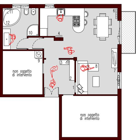 Appartamento 50 Mq by Progetto 50 Mq Architettura A Domicilio 174