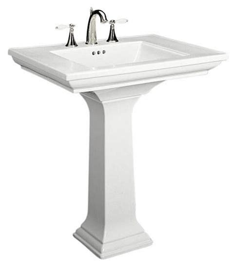 Classic Bathroom Sinks by 10 Easy Pieces Traditional Pedestal Sinks Millbrook