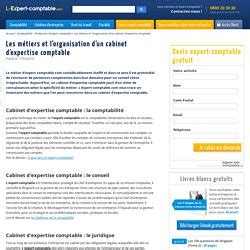 organisation cabinet expertise comptable 28 images