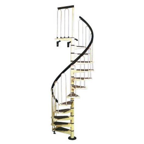 escalier en colima 231 on m 233 tal laqu 233 blanc diam 120 cm materiauxnet
