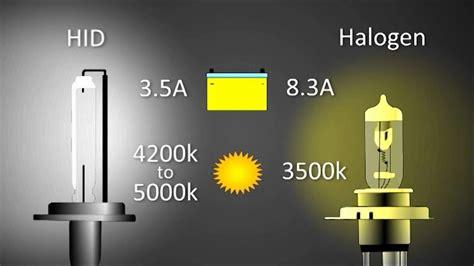 halogen light vs led understanding the working procedure of xenon hid lights