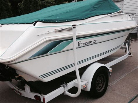 20 Ft Cuddy Cabin Boat by Thompson Carrara Cuddy Cabin 20 Ft 1994 For Sale For