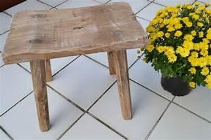 Hocker Aus Holz : tritthocker aus holz ~ Markanthonyermac.com Haus und Dekorationen