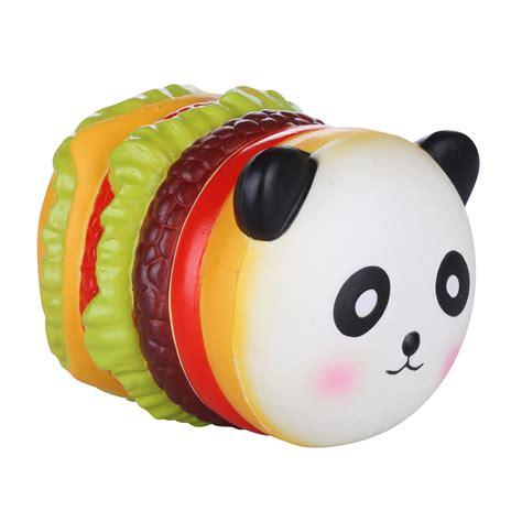 vlo squishy stress toys squishies soft slow rising panda hamburg 3 93 quot 1 piece