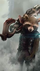 Rocket Raccoon (Guardians of the Galaxy Fanart) by ...