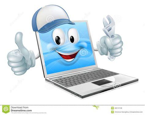 laptop computer engineer stock vector image