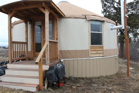 Building A Yurt In Montana
