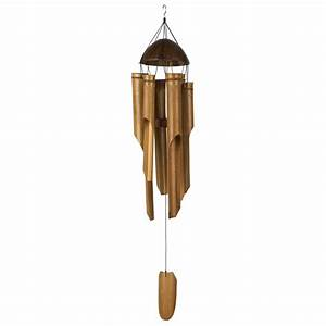 Island bamboo wind chimes to accent your home