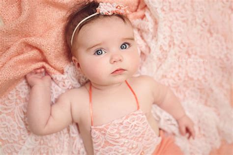 beautiful  month  baby girl  blue eyes unique