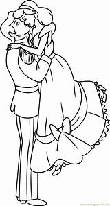 Coloring Couple Sweet Couples Cute Cartoon Pages Template Coloringpages101 Cinderella Templates Getdrawings Drawing sketch template