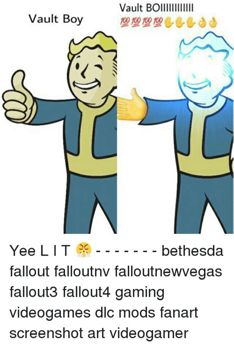 Vault Boy Meme - search modding memes on me me