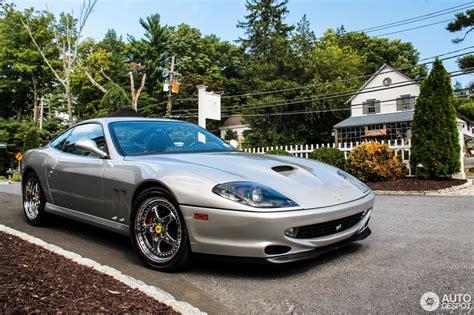 Introdotta nel 1996 con il nome di 550 maranello, nel 2002 fu aggiornata al nuovo modello 575 m (modificato), con cilindrata. Ferrari 550 Maranello - 13 July 2016 - Autogespot