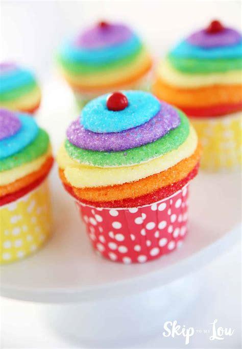 diy rainbow party ideas skip   lou