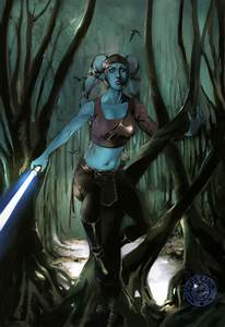 Aayla Secura by mude on DeviantArt