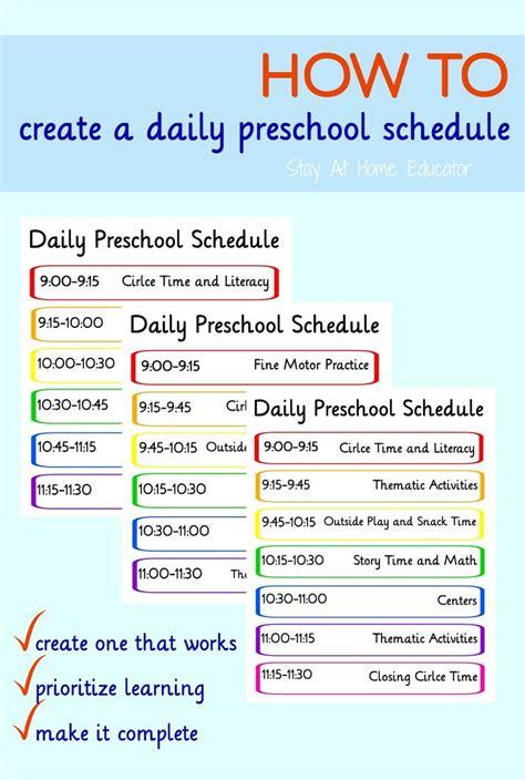 half day preschool schedule 17 best images about classroom schedule on 732