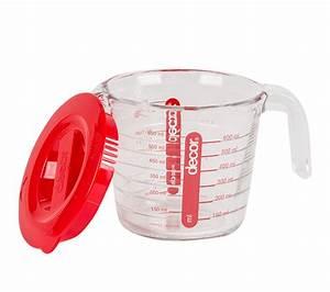Decor, Cook, U2122, Glass, Measuring, Jug, With, Lid, 650ml