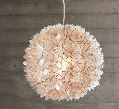 flowers that won t lose their luster capiz chandelier