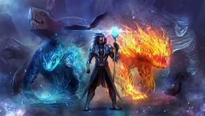 Wizard in ice and fire HD desktop wallpaper : Widescreen ...