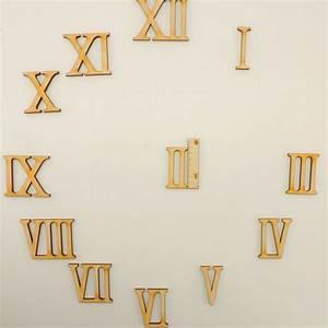 Römische Zahlen Uhr : r mische zahlen 1 bis 12 aus holz 35mm f r eine uhr zum basteln ebay ~ Orissabook.com Haus und Dekorationen