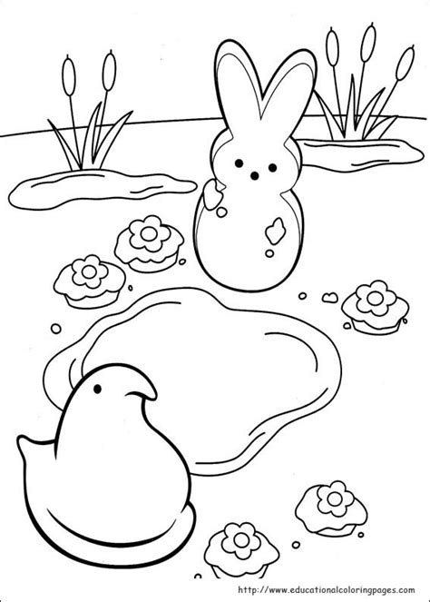 peeps coloring pages educational fun kids coloring pages  preschool skills worksheets