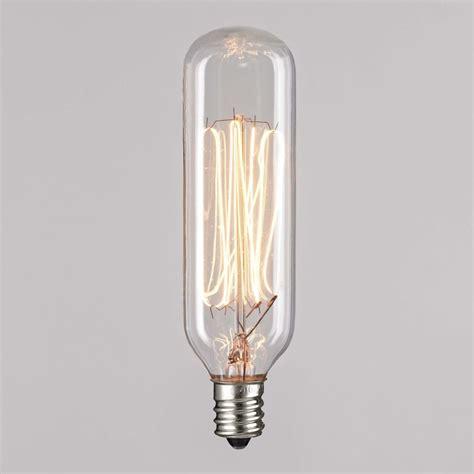 t25 40 watt incandescent filament light bulb 40t25cl e12