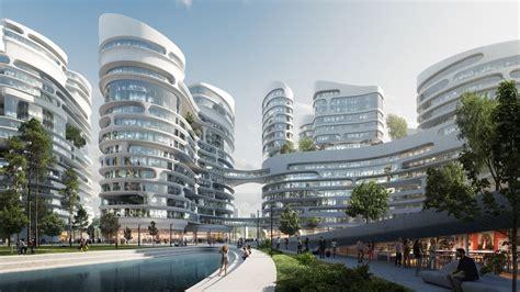 New Mega-smart City In Moscow By Zaha Hadid Architects