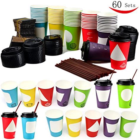 Wholesale reusable to go cheap coffee cup manufacturer double wall thermo custom coffee cup with lid and handle from factory. Top 24 Disposable Paper Coffee Cups 2019
