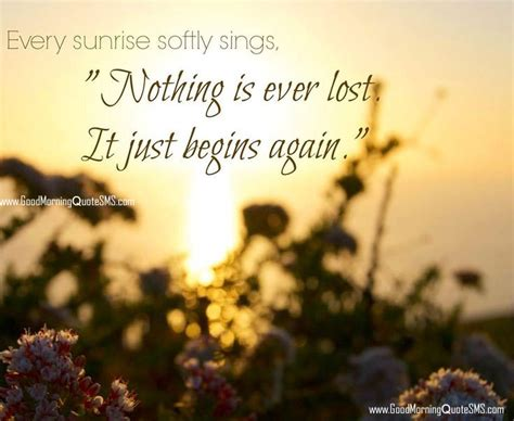 sunrise good morning quotes quotesgram