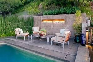 Gartentisch Mit Feuerstelle : ethanol kamin 10 wundervolle designs in minimalistischem look ~ Whattoseeinmadrid.com Haus und Dekorationen