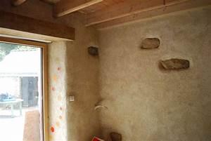 Enduit à La Chaux : des enduits chaux chanvre dans une chambre d 39 enfant ~ Dailycaller-alerts.com Idées de Décoration