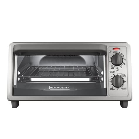 Countertop Toaster Oven - black decker 4 slice countertop toaster oven stainless