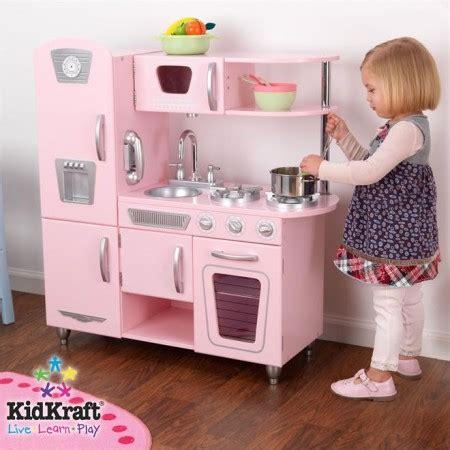 kidkraft vintage kitchen pink csn stores review kidkraft pink vintage kitchen quot deal