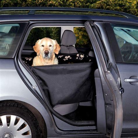 siege auto pour chien protège siège arrière de voiture en polaire pour chien
