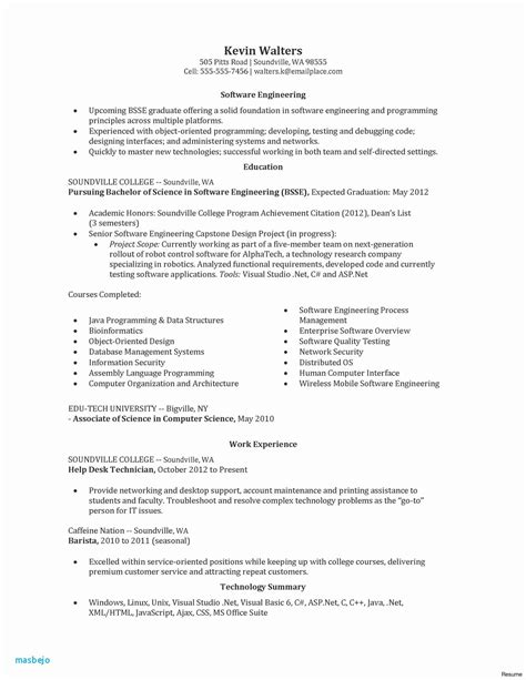 Resume Writing Business Software by E Tc Engineer 3 Resume Format Sle Resume Format