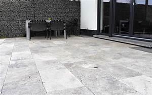 natursteinterrasse naturstein terrassenplatten bei steinlese With französischer balkon mit steine platten für den garten
