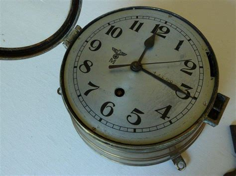 Question Kriegsmarine U Boat / Ships Clock Ww11