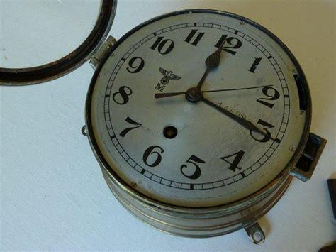 Question Kriegsmarine U Boat / Ships Clock Ww11