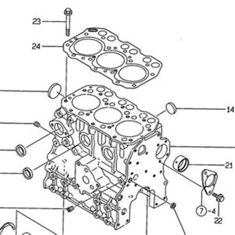 vues eclatees pour micro tracteur yanmar yanmar