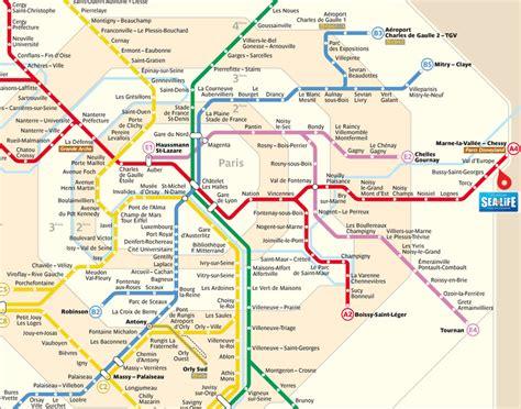 Carte Rer Parisien by Last Tweets About Plan Rer A