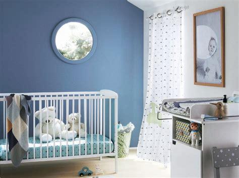 chambre bleu garcon idée déco chambre bebe garcon bleu