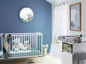 Idée Déco Chambre Bébé Garçon : id e d co chambre bebe garcon bleu ~ Nature-et-papiers.com Idées de Décoration