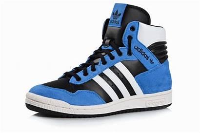 Adidas Leather Conferencia Azul Hi Blanco Negro