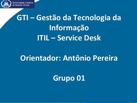 my tcc help desk serminario itil service desk