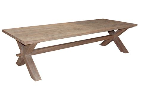 recycled garden teak judhi table reclaimed teak