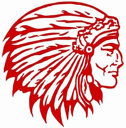 Indian Head Adair Transparent Indians County Clip