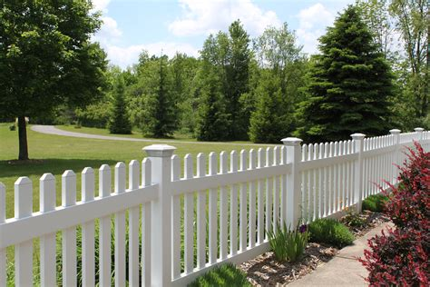 Vinyl Fence In A Variety Of Colors And Styles