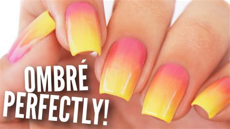 Ombre  Gradient Your Nails Perfectly!  Makeup Videos