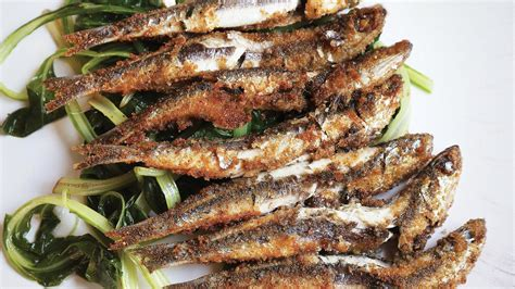 pan fried anchovies