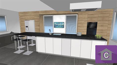 photos cuisine ouverte cuisine leicht et lineaquattro