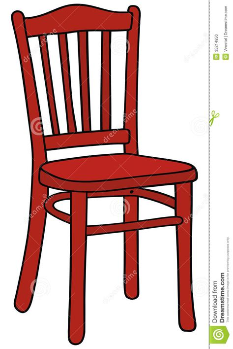 Electric Chair Plans by Red Chair Stock Photo Image 35214850